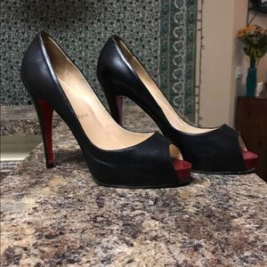 100% authentic Christian Louboutins.
